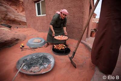 Zarb, traditional Bedouin food